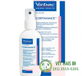 Cortavance Spray Anti-Inflamatório para Cães Virbac - 76ml