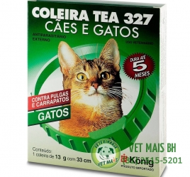 COLEIRA TEA ANTIPULGAS GATOS