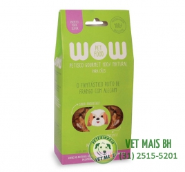 PETISCO WOW PET FOOD PEITO DE FRANGO COM ALECRIM CÃES
