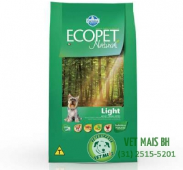 ECOPET LIGHT ADULTO 3 Kg