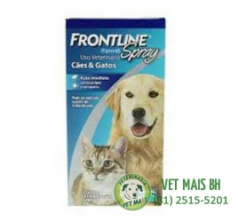 FRONTLINE SPRAY PARA CÃES E GATOS 250ml - ANTIPULGAS E CARRAPATOS