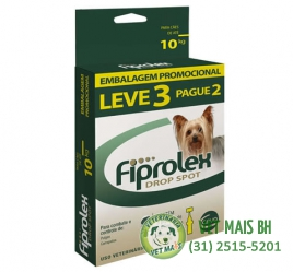 Fiprolex Anti pulgas e carrapatos