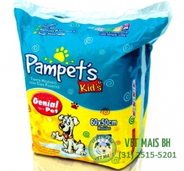 PAMPETS KIDS TAPETES HIGIÊNICOS 07 UNIDADES
