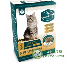 PROTECT PET GATOS ADULTOS CASTRADOS SÊNIOR 1,5KG