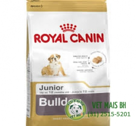 RAÇÃO ROYAL CANIN BULLDOG JUNIOR 12 kG
