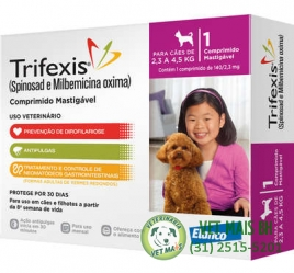 TRIFEXIS CÃES 2,3 a 4,5kg