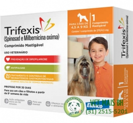 TRIFEXIS CÃES 4,5 a 9kg