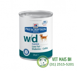 PATÊ HILLS PRESCRIPTION CANINE DIET W/D - 370g