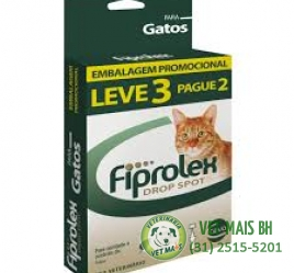 FIPROLEX GATOS 0,5 ML LEVE 3 PAGUE 2