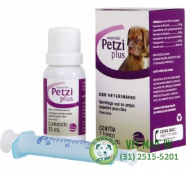 PETZI PLUS SOLUÇAO 20ML